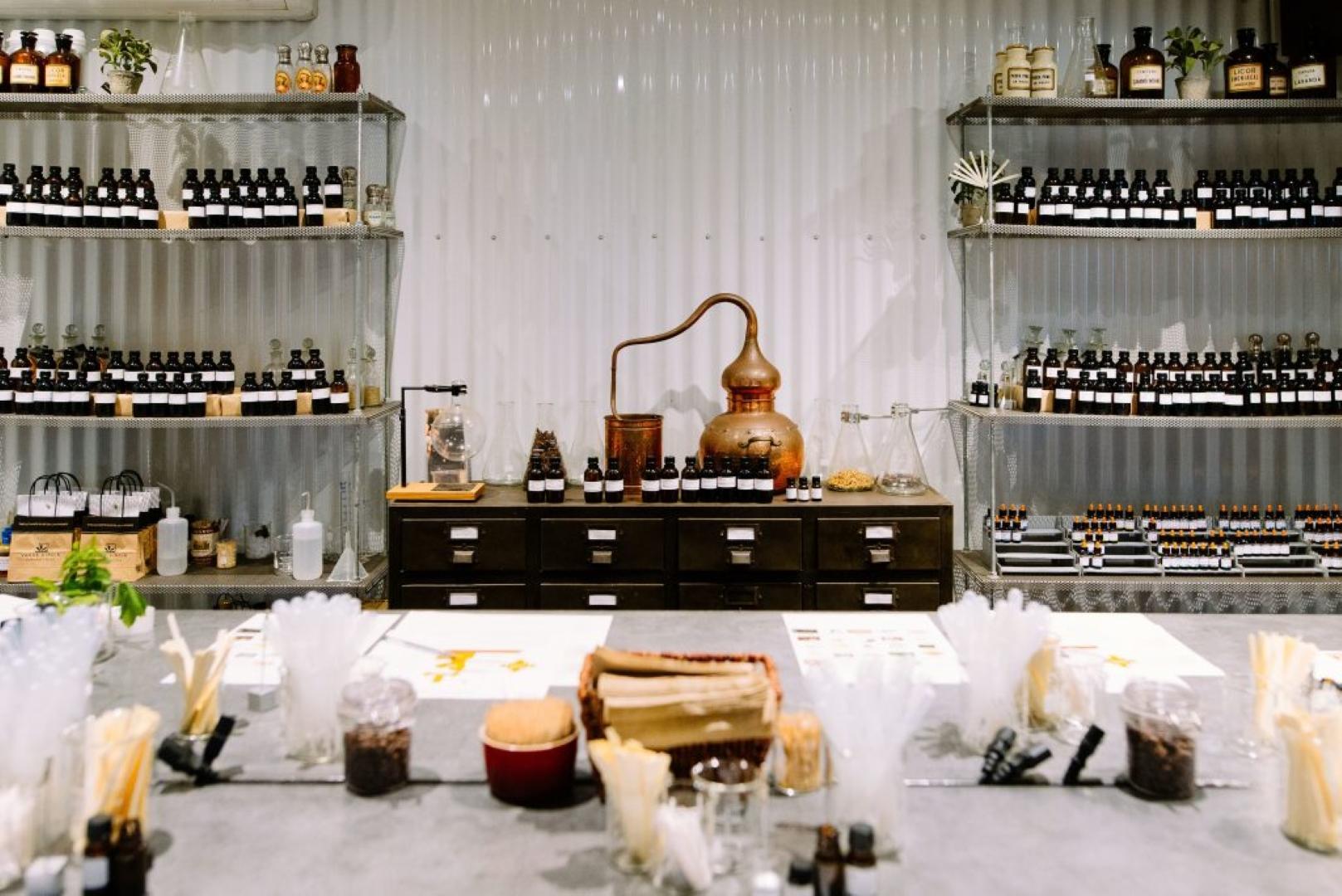 Vasse Virgin Perfume Workshops