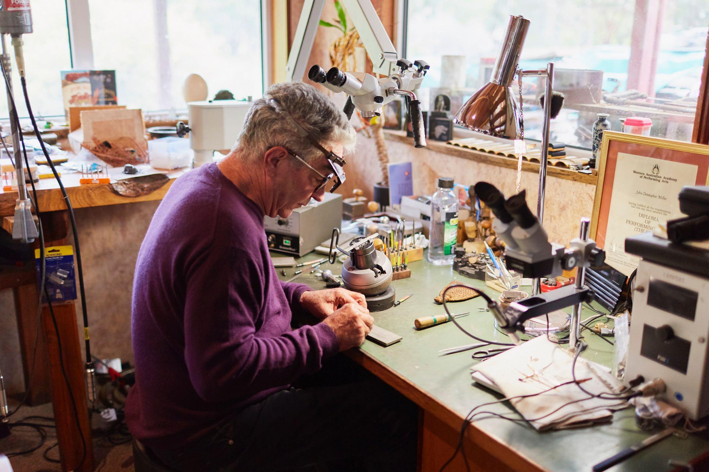 Jeweller John Miller
