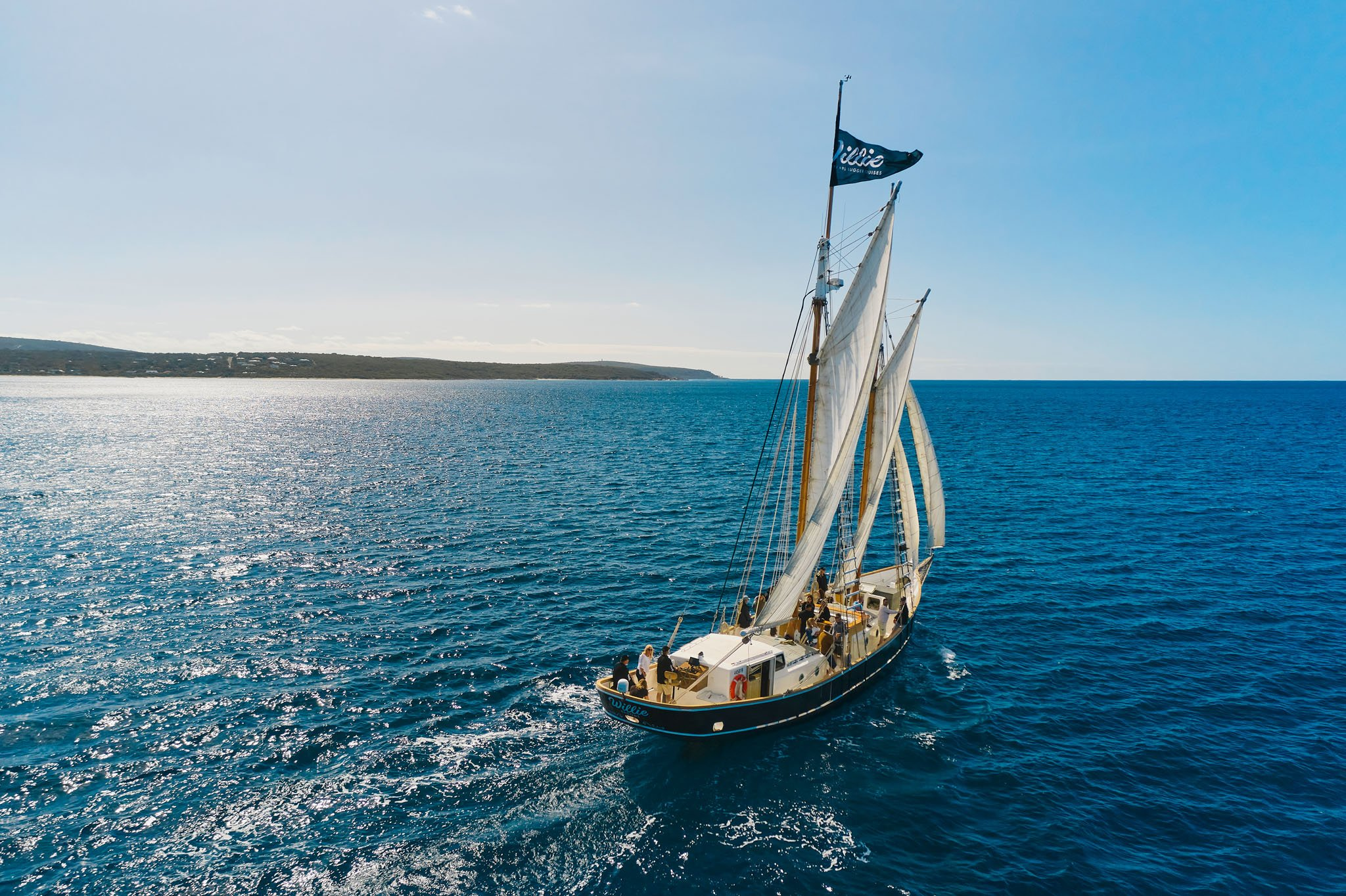 New Experiences Willie Pearl Lugger Cruises Busselton Dunsborough - Credit Tim Campbell Photo